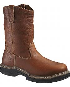 Wolverine Raider Pull-On Work Boots - Steel Toe