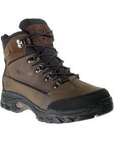 Wolverine Spencer Waterproof Lace-Up Hiking Boots - Round Toe