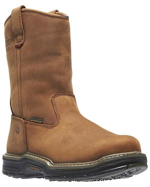 Wolverine Marauder Waterproof & Insulated Pull-On Work Boots - Steel Toe