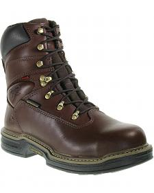 """Wolverine Buccaneer 8"""" Waterproof Work Boots - Steel Toe"""