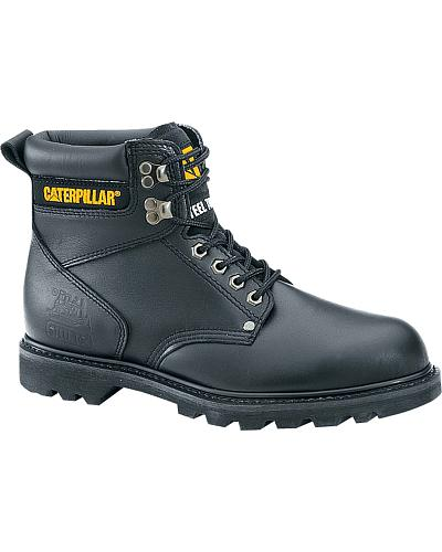 "Caterpillar 6"" Second Shift Lace-Up Work Boots Steel Toe Western & Country P89135"