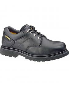 Caterpillar Ridgemont Lace-Up Oxford Work Shoes - Steel Toe