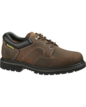 Caterpillar Ridgemont Lace-Up Oxford Work Shoes - Round Toe