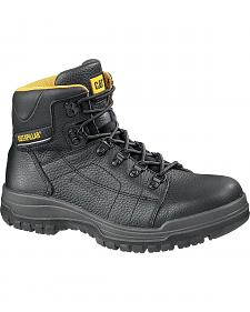"Caterpillar Dimen High Top 6"" Lace-Up Duty Boots - Steel Toe"