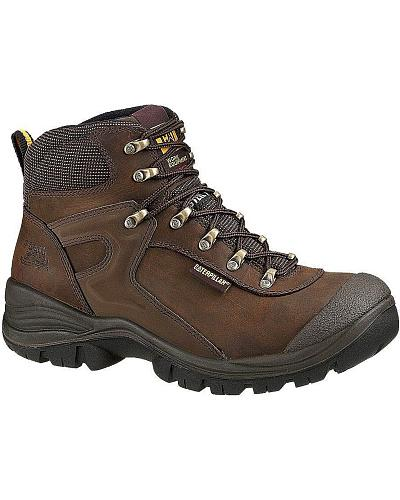 "Caterpillar Pneumatic Waterproof 6"" Lace-Up Work Boots Steel Toe Western & Country P89556"