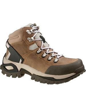Caterpillar Antidote High Lace-Up Work Shoes - Steel Toe