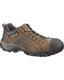 Caterpillar Argon Lace-Up Work Shoes - Composition Toe