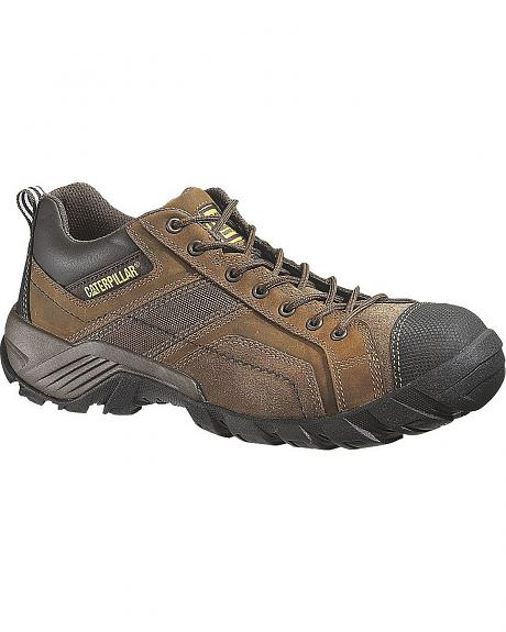 Caterpillar Argon Lace-Up Work Shoes - Composition Toe