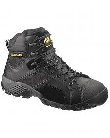 """Caterpillar 6"""" Argon Waterproof Lace-Up Work Shoes - Composition Toe"""