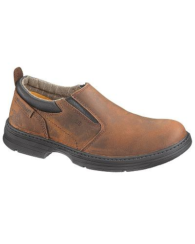 Caterpillar Conclude Slip-On Work Shoes Steel Toe Western & Country P90100