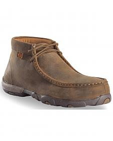 Twisted X Driving Moc Work Shoes - Steel Toe