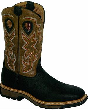 Twisted X Lite Pull-On Work Boots - Steel Toe