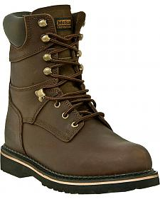 "McRae Industrial Men's 8"" Lace-Up Work Boots - Steel Toe"