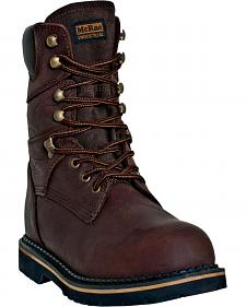 "McRae Men's Ruff Rider 8"" Welted Work Boots"