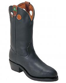 Boulet Pull-On Work Boots - Steel Toe