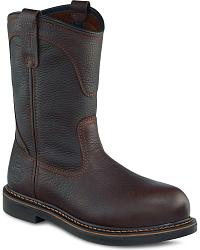 Irish Setter by Red Wing Farmington Pull-On Work Boots - Round Toe at Sheplers