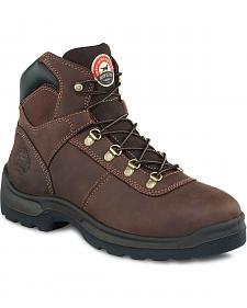 Red Wing Irish Setter Ely Hiker Work Boots - Round Toe