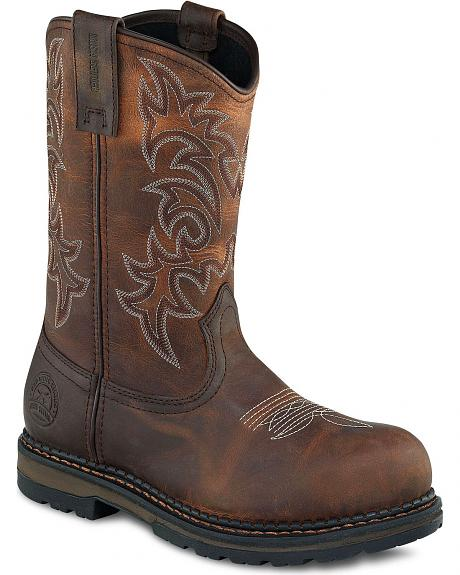 Red Wing Irish Setter Ramsey Pull-On Work Boots - Steel Toe