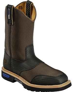 Cinch Brown Cordura H2O Waterproof Work Boots