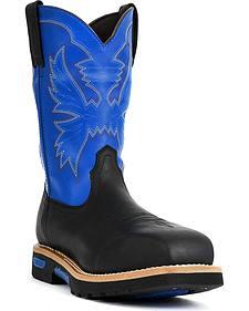 """Cinch� WRX Men's Waterproof Steel Toe 10"""" Work Boots"""