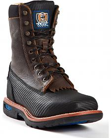 Cinch� WRX Men's Waterproof Steel Toe Lace-Up Work Boots