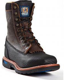 "Cinch Men's Utility 9"" Lace Up Work Boots"