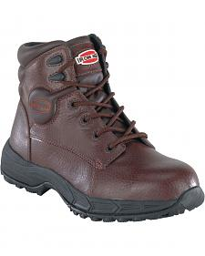 Iron Age Men's Ground Finish Steel Toe Work Boots
