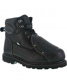 Iron Age Men's Ground Breaker Steel Toe Met Guard Work Boots
