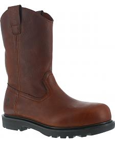 Iron Age Men's Hauler Composite Toe Wellington Work Boots