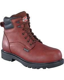 Iron Age Men's Hauler Composite Toe Waterproof Work Boots
