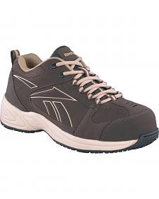 Reebok Jorie Sport Jogger Work Shoes - Composition Toe