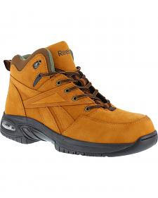 Reebok Men's Tyak High Performance Hiker Work Boots - Composition Toe