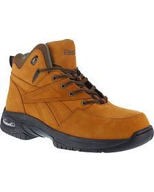 Reebok Men's Tyak Hiking Work Boots - Composite Toe