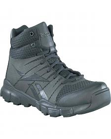 Reebok Men's Dauntless Tactical Side-Zip Work Boots