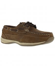 Rockport Works Sailing Club Boat Shoes - Steel Toe