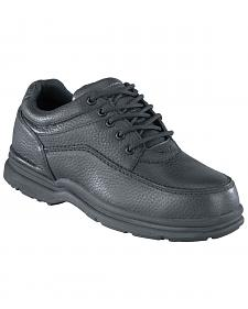 Rockport Works World Tour Casual Oxford Work Shoes - Steel Toe