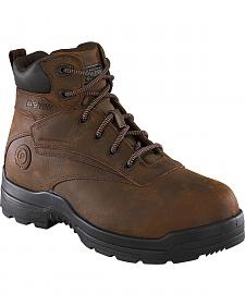 "Rockport More Energy 6"" Lace-Up Work Boots - Composition Toe"