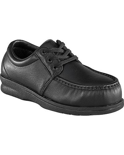 Florsheim Mens Nifty Steel Toe Lace-Up Oxford Shoes Western & Country FS200