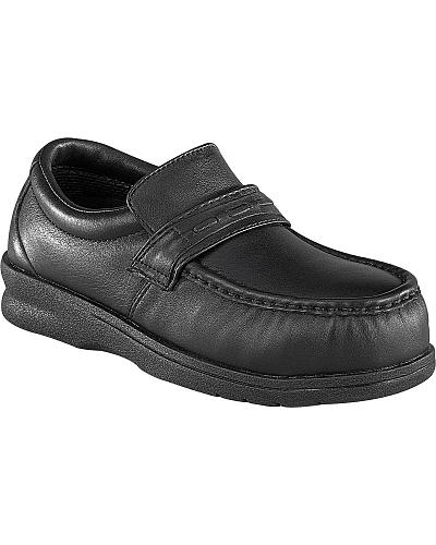 Florsheim Mens Nifty Steel Toe Slip-on Shoes Western & Country FS205