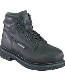"Florsheim Men's Utility Steel Toe 6"" Work Boots"