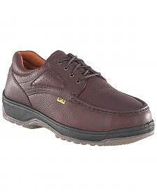 Florsheim Men's Compadre Internal Met Guard Steel Toe Lace-Up Oxford Shoes