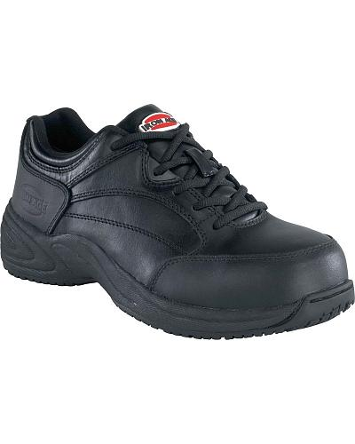 Iron Age Womens Allgood Athletic Oxford Steel Toe Work Shoes Western & Country IA105