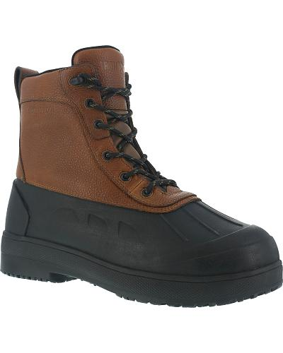 Iron Age Womens Duck Steel Toe Waterproof Work Boots Western & Country IA965