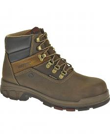 "Wolverine Cabor 6"" Waterproof Work Boots - Composition Toe"