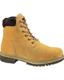 "Wolverine 6"" Waterproof Insulated Work Boots"