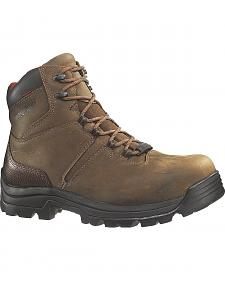 "Wolverine Bonaventure 6"" Waterproof Work Boots - Steel Toe"