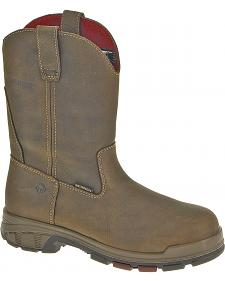 Wolverine Cabor Wellington Waterproof Work Boots - Composition Toe