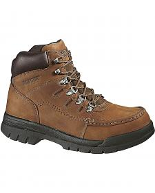 "Wolverine Potomac 6"" Work Boots - Steel Toe"
