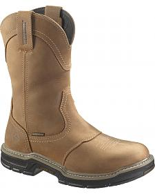 Wolverine Anthem Waterproof Wellington Work Boots - Steel Toe