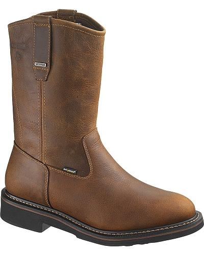Wolverine Brek Waterproof Wellington Work Boots Steel Toe Western & Country W10084